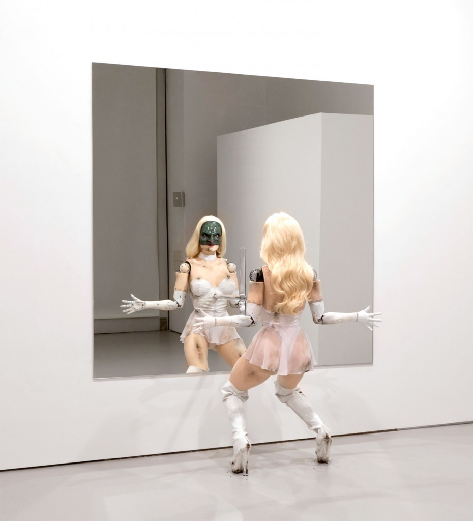 Female Figure 2014 (2014) Installation view at David Zwirner, New York