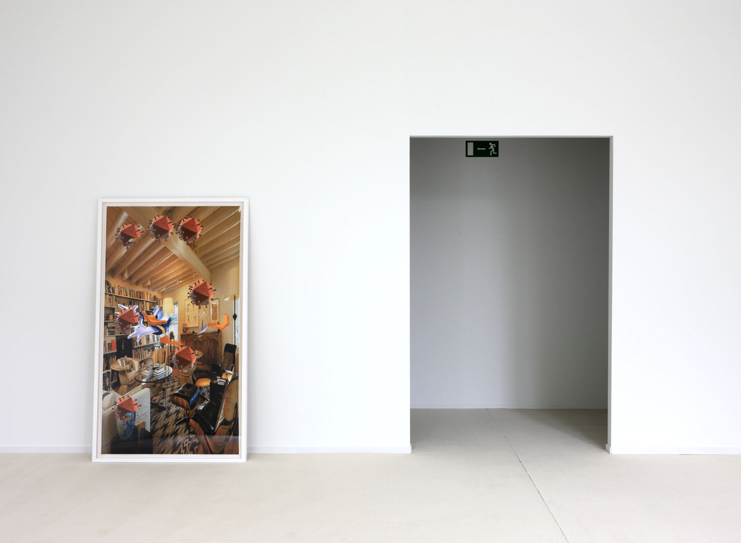 Untitled (2012) Installation view at S.M.A.K., Gent (2013)