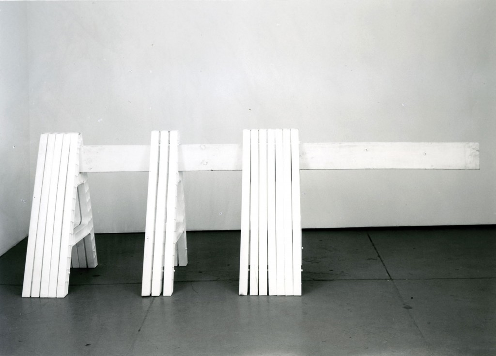 """Untitled (""A"" piece 3 examples),"" (1998) Courtesy of the Artist. Photography by Adam Reich."