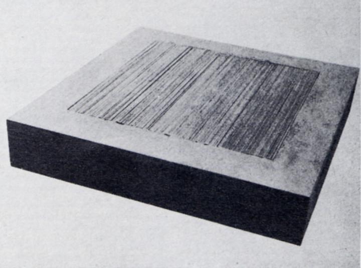 Alighiero Boetti, Oggetto (Object), 1967.