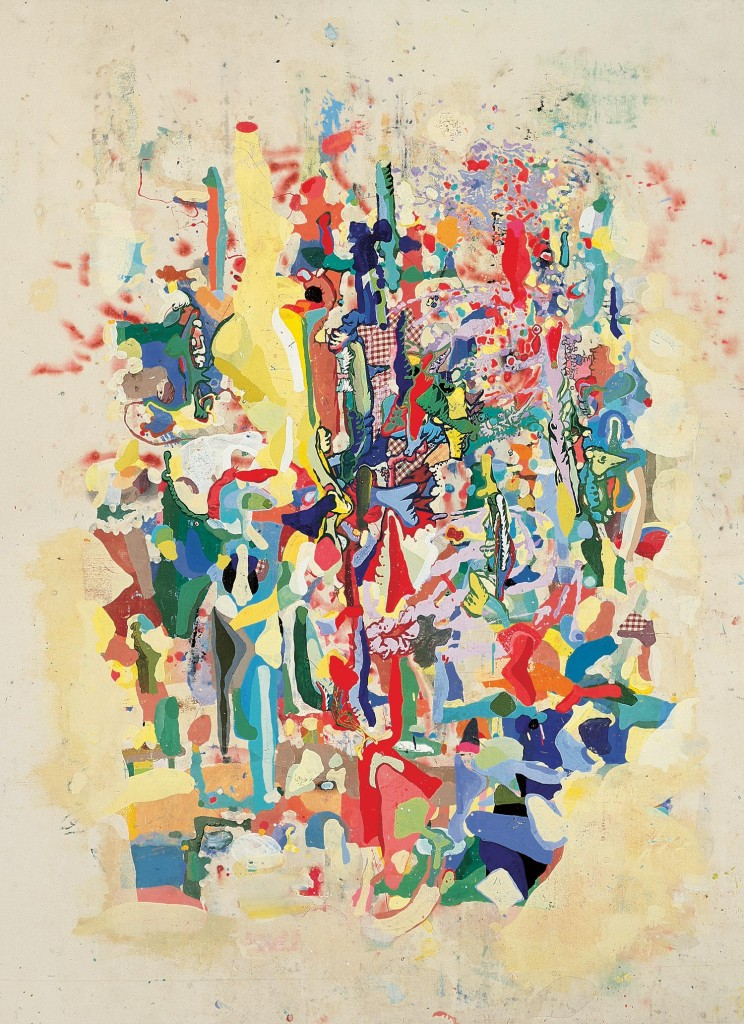 "Gyles Lyon, ""Multiverse Compression"" (1997). Courtesy Kinz, Tillou+Feigen, New York."