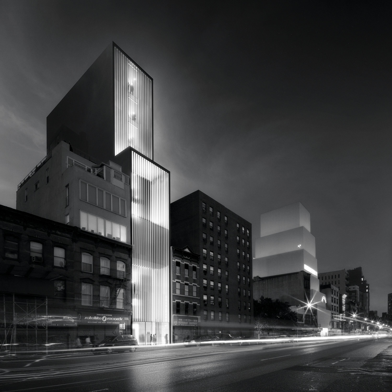 A rendering of the Sperone Westwater's new gallery space at the Bowery. Courtesy Sperone Westwater, New York.