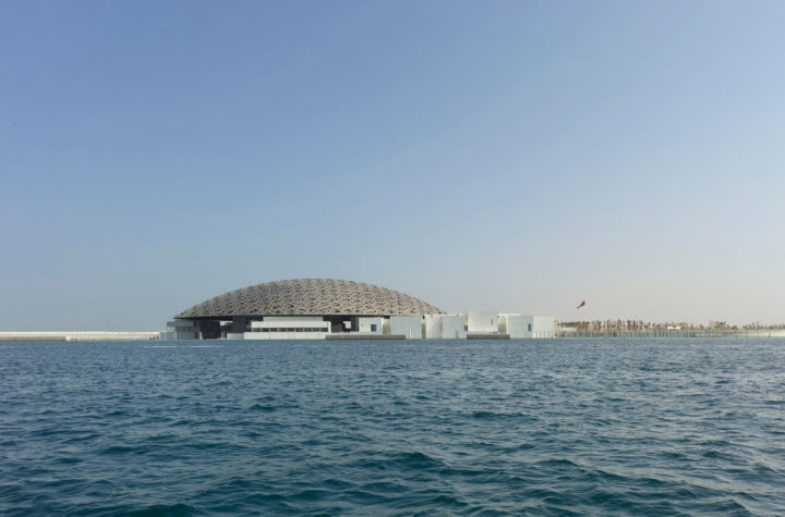 Exterior view, Louvre Abu Dhabi