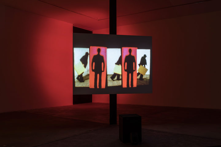 "Ericka Beckman, ""Super-8 Trilogy (1978-81),"" installation view"