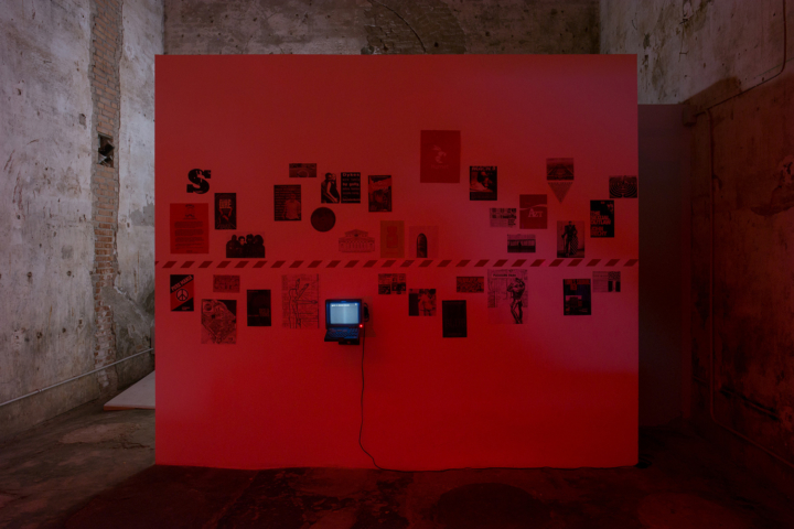 Cruising Pavilion, Installation view.