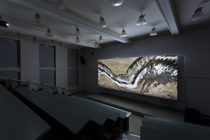 Julian Rosefeldt, In the Land of Drought, 2016 (installation view)
