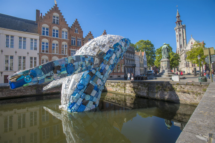 Studiokca, Skyscraper (the Bruges Whale), 2018